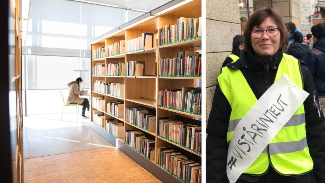Elisabeth Rundqvist är en av initiativtagarna till uppropet. Foto till vänster: Stina Loman, till höger: Privat.