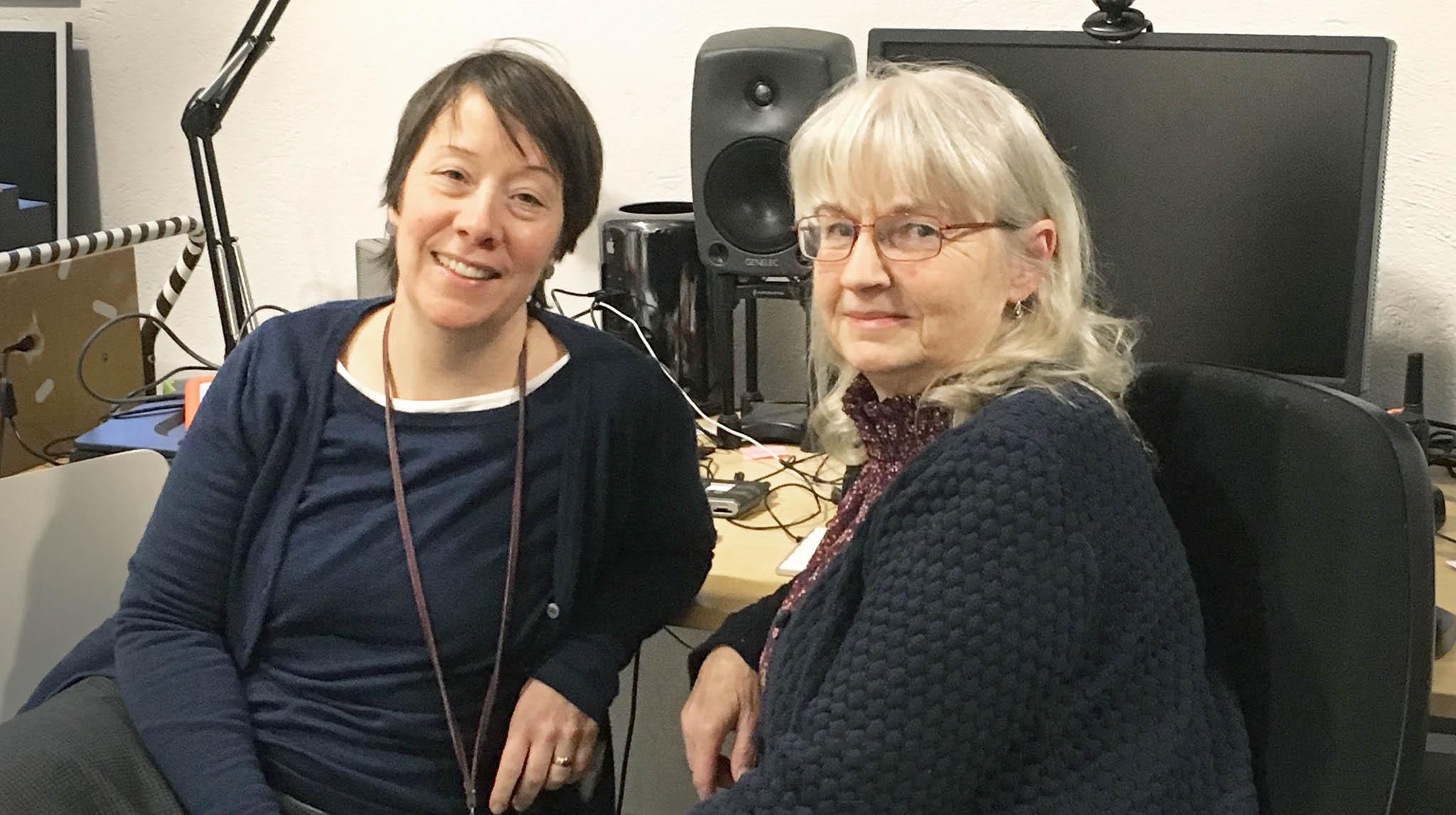 Sofia Murray och Gunilla Fors är projektledare för Bibblan bildar. Foto: Malmö stadsbibliotek