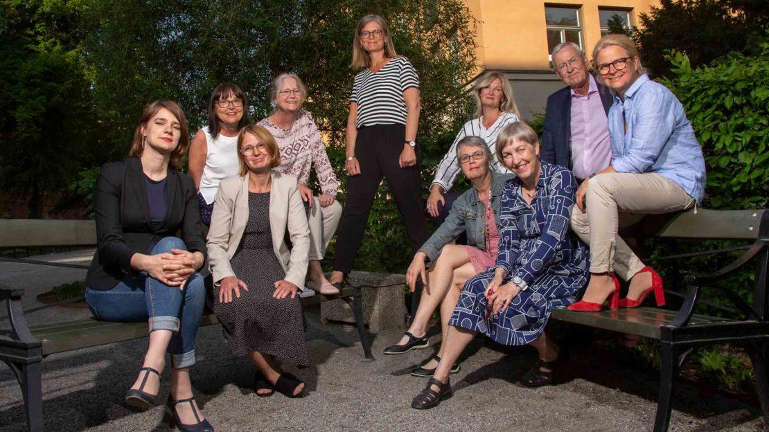 Under onsdagen valdes nya styrelsen för Svensk biblioteksförening. Foto: Elisabeth Ohlson Wallin.